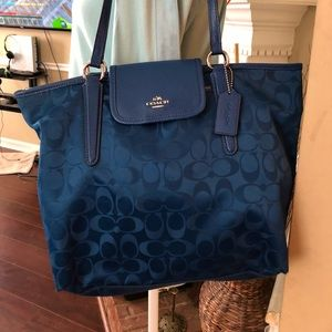Coach Nylon Shopping Tote